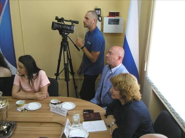 Крымский омбудсмен встретилась со студентами-юристами