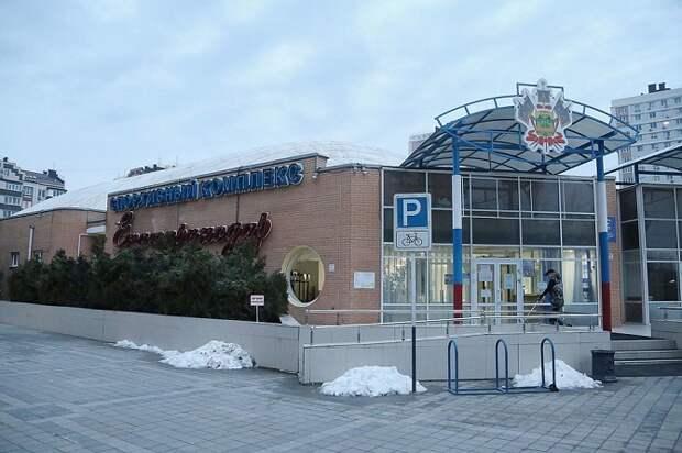 В Краснодаре отремонтировали просевший во время снегопада купол спорткомплекса
