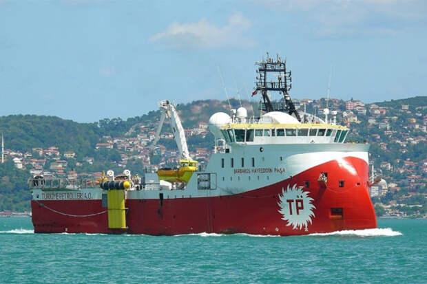 Турция буровое судно