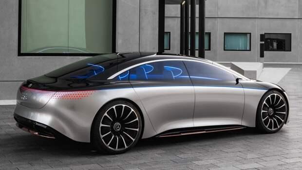 «Зелёная» версия S-Class: в Merсedes-Benz рассказали подробности о серийном EQS