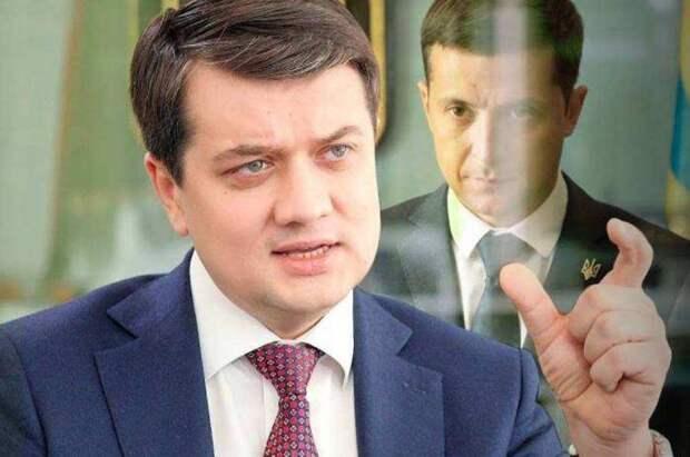 Разумков сдул пыль с артефакта Ющенко и готов вмешаться в большую политику