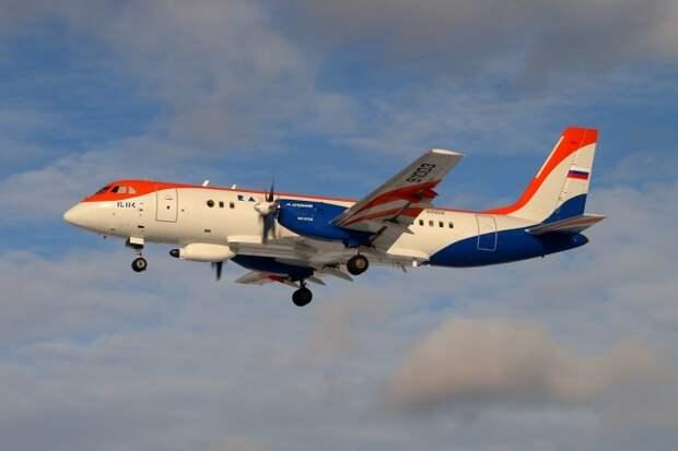 Самолёт Ил-114