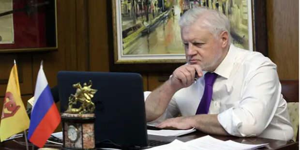 Миронов назвал способы поднять пенсии россиян до европейского уровня