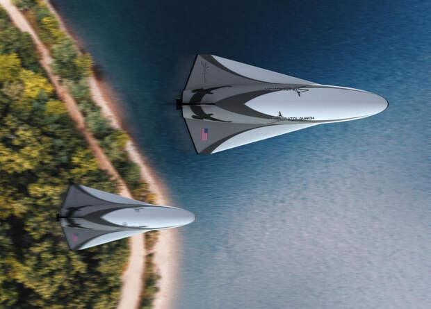 Stratolaunch представила гиперзвуковые планеры и многоразовый космоплан