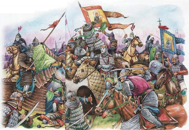 Монгольский полководец Субэдэй