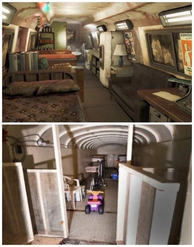 В бомбоубежище есть зона отдыха и игровая комната для детей (Ark Two, Канада).