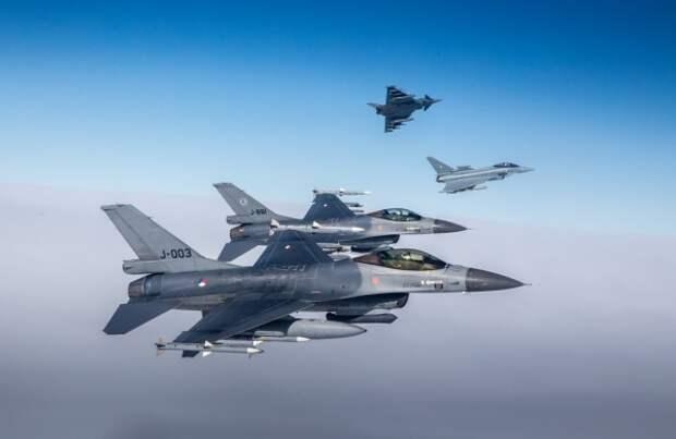 ВПрибалтике стартовали воздушные учения НАТО Ramstein Alloy