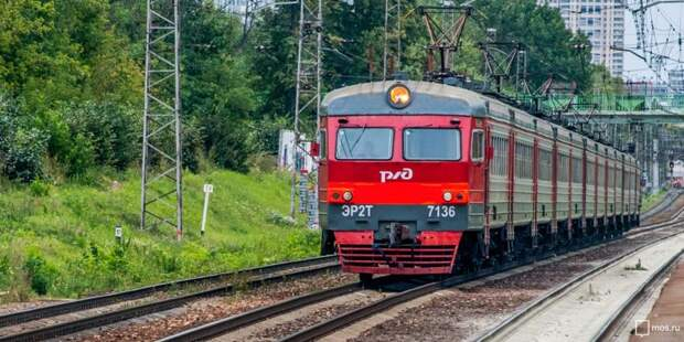 Несколько электричек от Грачёвской отменены 17, 21 и 23 сентября