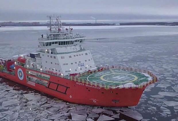 Что едят на ледоколе в Арктике