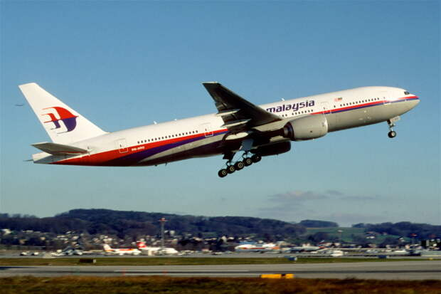 Boeing 777-200ER. / Фото: www.wikimedia.org