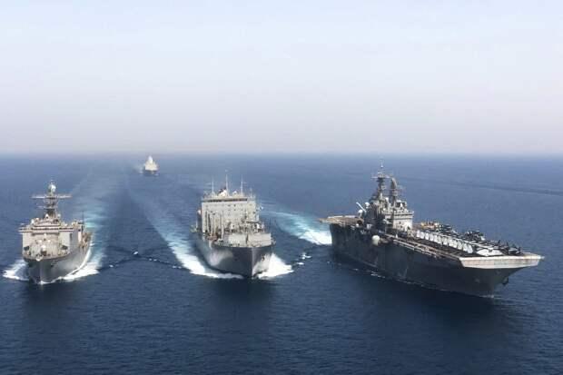 Генерал КСИР пригрозил уничтожить корабли США в Персидском заливе