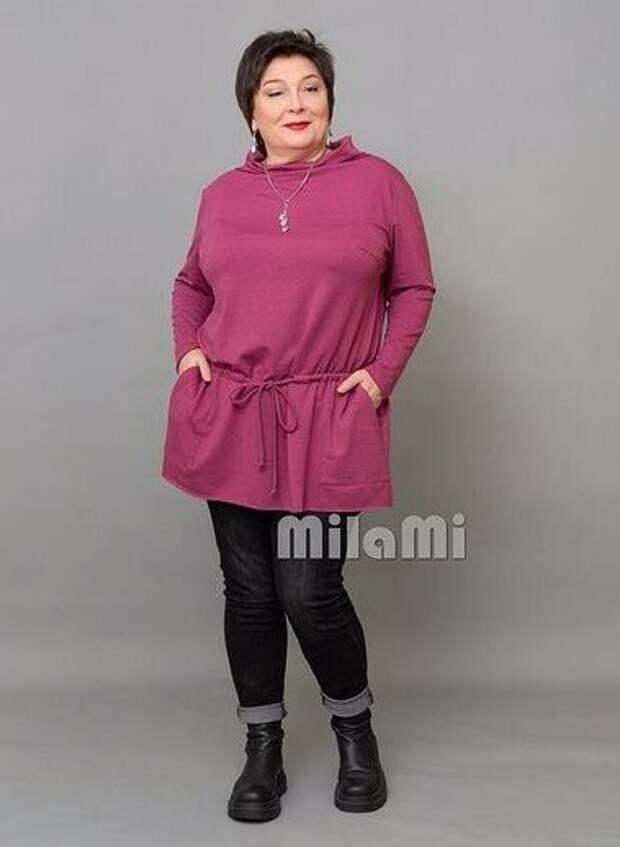 """Фото 4 - джинсы + туника торгового бренда """"MilaMi""""."""