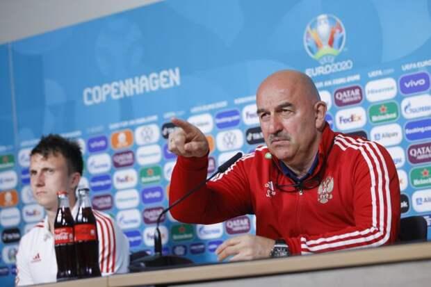Сборная России анонсировала матч с Данией на Евро-2020 цитатой Черчесова