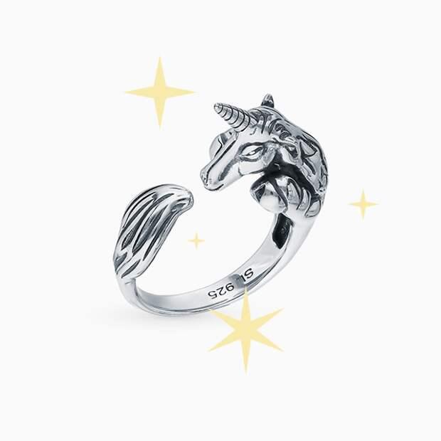 Кольцо SL, серебро