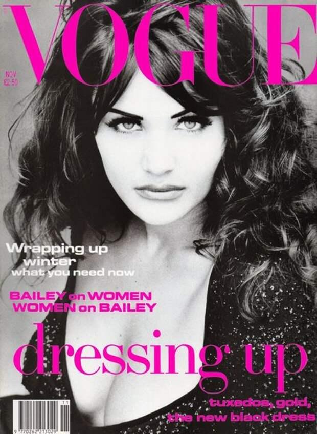 Vogue UK, ноябрь 1992 года