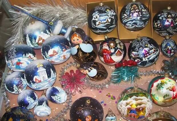 Чем украшали новогоднюю елку в 90-е