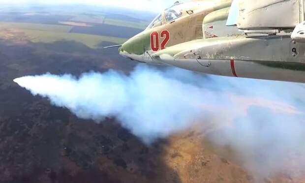Ответ на подрыв российского броневика: самолеты ВКС работают по целям в Идлибской зоне