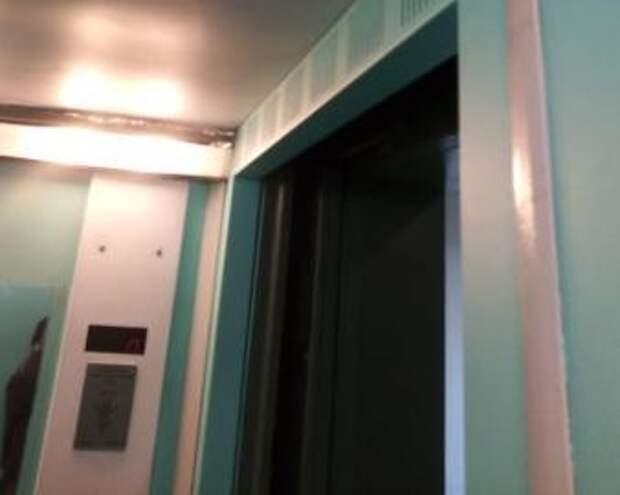 В доме на Дмитровском лифт привели в порядок