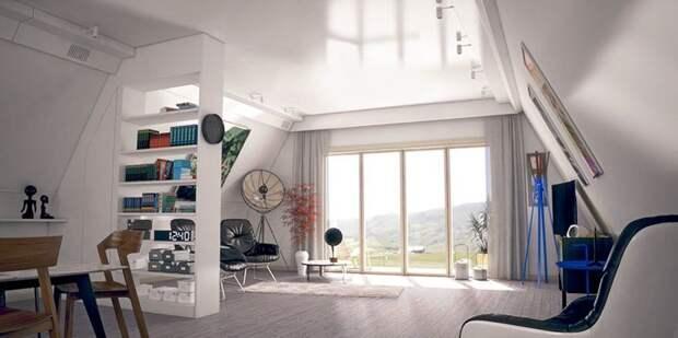 Интерьер имеет элегантный и современный стиль с открытой планировкой Ренато Видаль. дизайн, дом, недвижимость, строитель, стройка