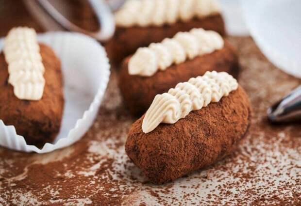 Классический вариант пирожного картошка. \ Фото: google.com.ua.