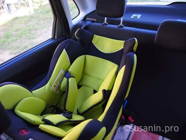 С начала года в Удмуртии выявили 864 нарушения правил перевозки детей в автомобилях