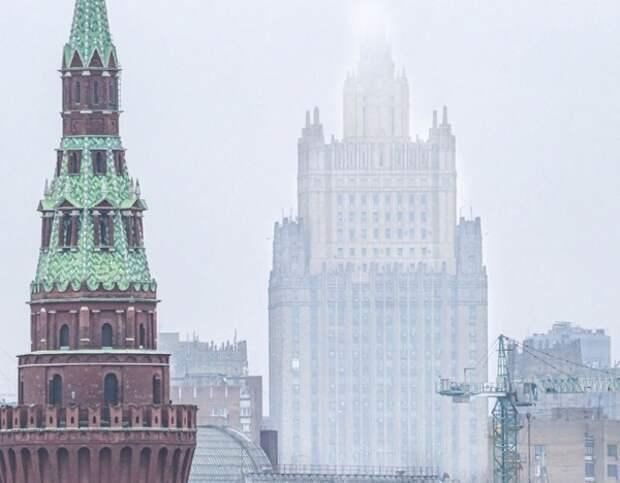 """МИД вручил посольству США ноту с обвинениями в распространии американских """"фейков о России"""""""