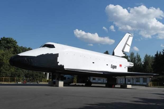 """Космический корабль """"Буран"""". Фото: mos.ru"""