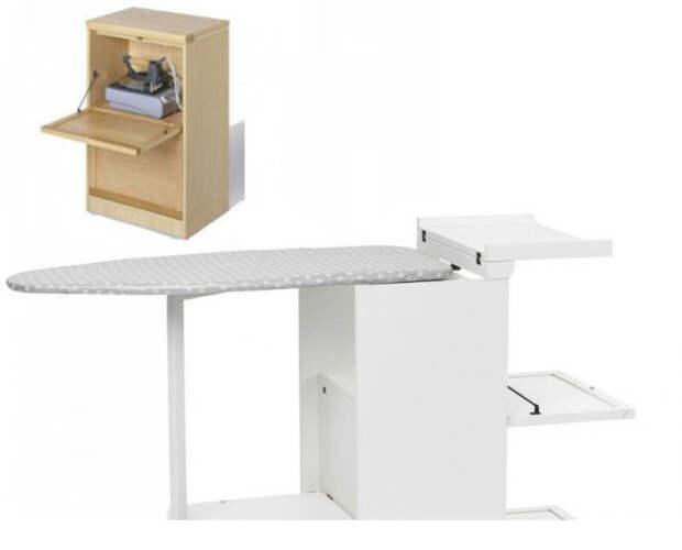 Идеи для хранения гладильной доски. Или 10 мест, где можно спрятать гладильную доску, фото № 30