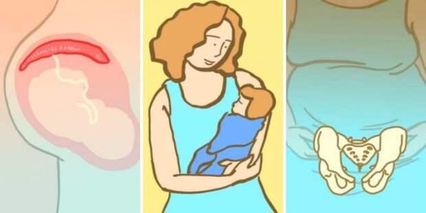 Мамы - суперчеловеки! 10 умопомрачительных фактов о беременности