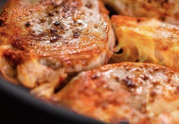 Одна сковородка и 30 минут: курица с грибами на обед и ужин