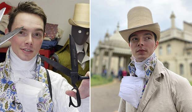 25-летний парень одевается исключительно в одежду 1800-х годов: «Джинсы - это не для меня»