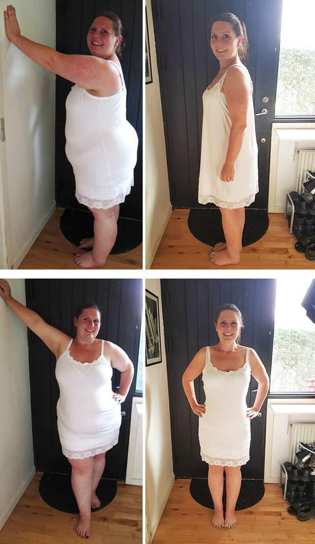 35. Из 160 кг в 89 кг за 2 года похудение, результат