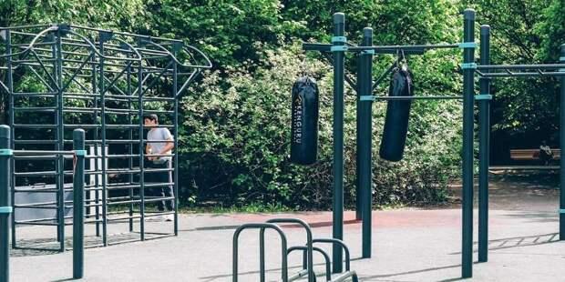 Спортивные площадки доступны для жителей Москвы в десятках парков