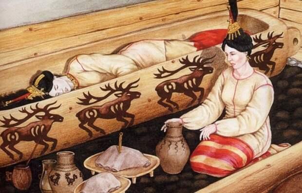 """Артефакты истории. Загадки """"алтайской принцессы""""."""