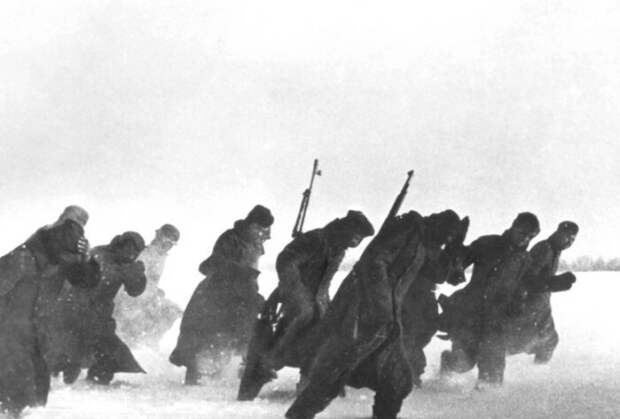 Русская зима нередко становилась причиной отступления.
