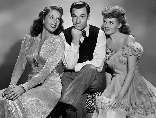 Типичные наряды актеров Голливуда 1930-1940х годов.
