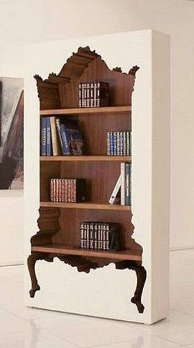 Шкаф в шкафу креативная, кривая, мебель, смешная, странна, фантастическая