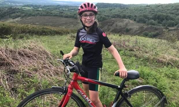 16-летняя девушка готовится проехать свыше 970 км на велосипеде ради борьбы с климат-кризисом