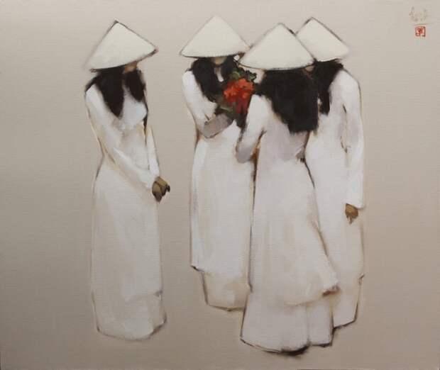 Придёшь ты, как утро... Вьетнамский художник-минималист Nguyen Thanh Binh