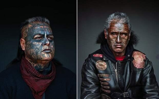 Монгрелы - воинствующие члены банды в мирной Новой Зеландии