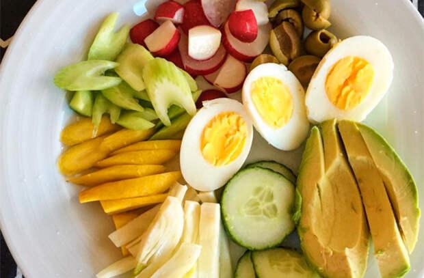 Минутная вкуснота из обычных вареных яиц