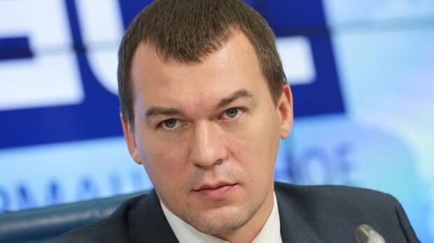 Разговор с Путиным вдохновил Дегтярева на участие в выборах хабаровского губернатора
