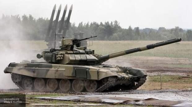 Военный эксперт Леонков назвал последние версии российских танков Т-90 и Т-74 угрозой НАТО