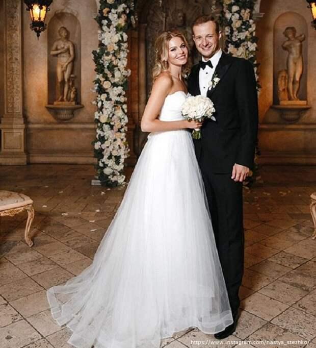 Анастасия Стежко сообщила о разводе с мужем в годовщину свадьбы