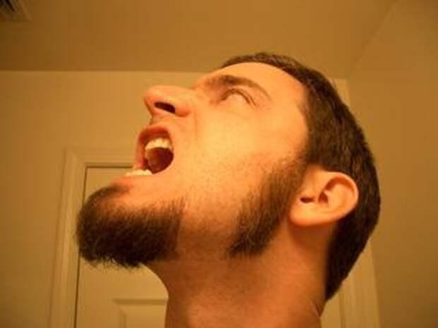 борода, усы