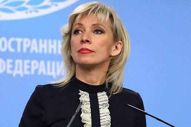 Захарова рассказала, зачем Запад придумал историю с отравлением Навального