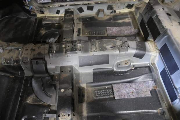 виброизоляция Форд Фокус 2