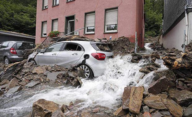 Наводнение в Германии будет иметь политические последствия. The Spectator, Великобритания