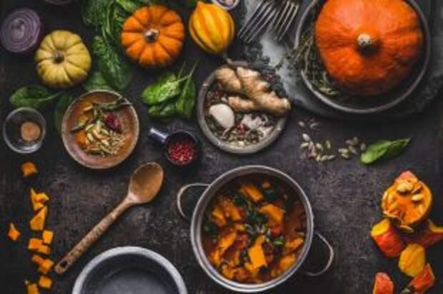 Сезон полезной тыквы. Готовим оранжевые осенние блюда