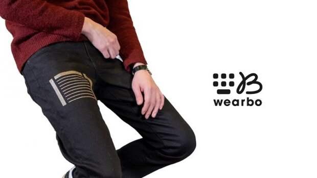 Японцы представят одежду с текстильной клавиатурой